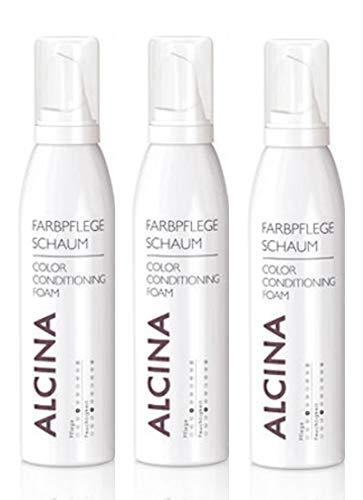 Alcina Farbpflege-Schaum 3x150ml