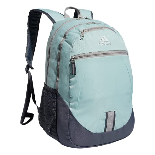 adidas Foundation Backpack Zaino, Halo Verde Menta/Grigio Cioce, Taglia Unica Unisex-Adulto