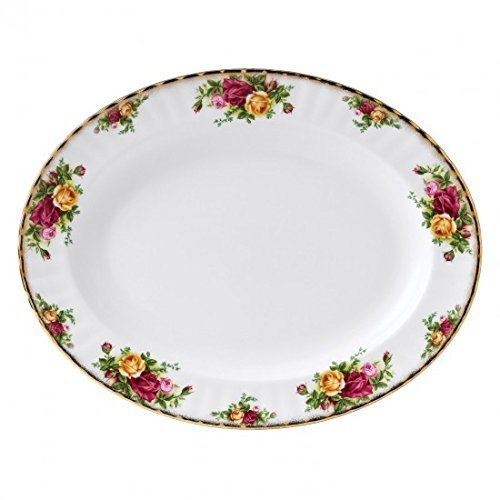 Royal Albert - Old Country Roses Plat Ovale 33 cm