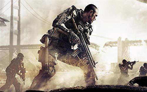 Call of Duty Advanced Warfare Jigsaw Puzzle 500 Piezas, Educational Game Juguete para Aliviar Estrés Juego Intelectual Cerebro Desafío, Decoración Hogareña, 20In X 15In
