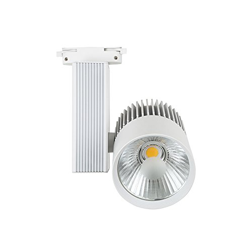Foco de Carril LED Monofásico G8002 30W Blanco CÁLIDA 3000K Focos de Techo ONSSI LED