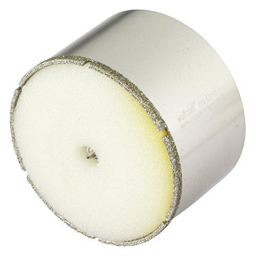 Wolfcraft 5933000 sierra de corona Diamant Ceramic con broca de centrado, vástago...