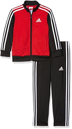 adidas Yb Tibero Ts Oh Chándal, Hombre, Rojo (Escarl / Negro / Blanco), L 164