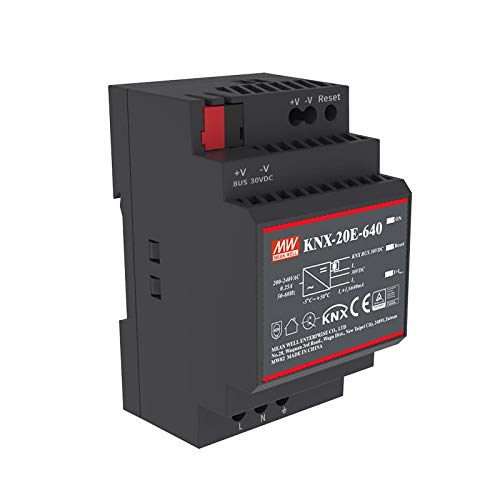 WITTKOWARE KNX-20E-640 EIB/KNX Hutschienen-Stromversorgung, 30V, 0,64A, 19,2W