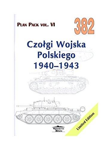 PLAN PACK VOL.VI CZOŁGI WOJSKA POLSKIEGO 1940-1943