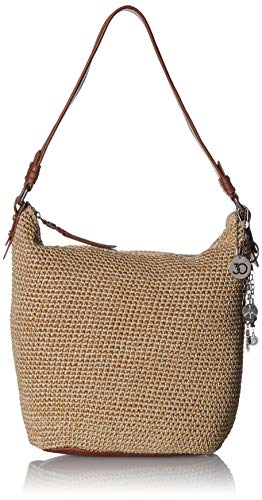 The Sak Sequoia Crochet Hobo, bamboo static