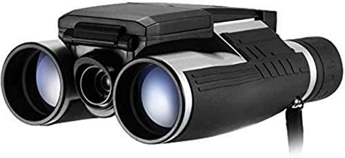 SYWJ HD Telescopio Digital Telescopio 12 * 32 binoculares de cámara Digital, Soporte para Tomar fotografías, grabación de Video, para observación de Aves, Juego de fútbol, función de visión noc