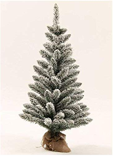 KING OF CHRISTMAS 3 Foot King Flock Artificial Christmas Tree Unlit