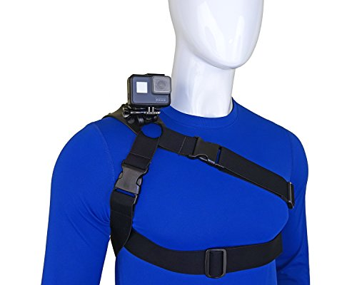 STUNTMAN 360 - Schulter Brust und Hüfte Halterung für Action-Kameras