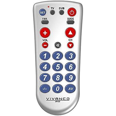 Vivanco Ur Z2 2 In 1 Universal Tv Elektronik