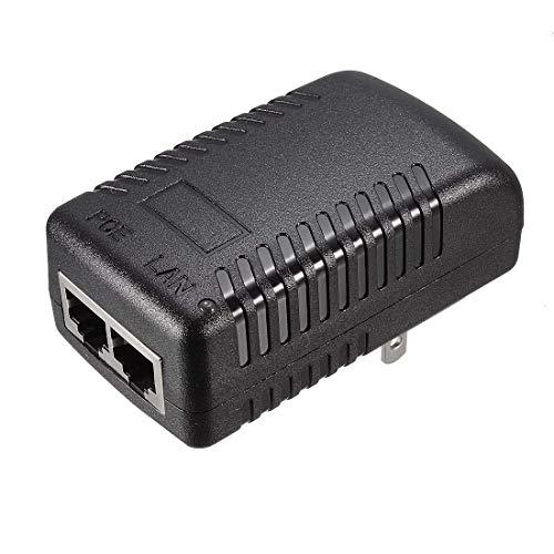 N/D 15v 1a PoE Fuente de alimentación Inyector Power Over...