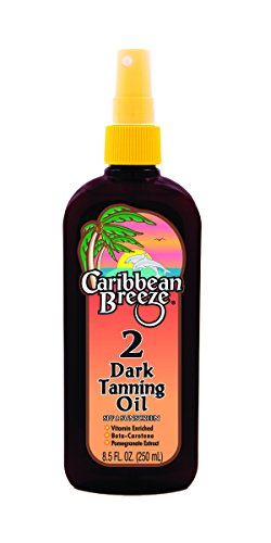 Caribbean Breeze SPF 2 Golden Tanning Oil 250 ml