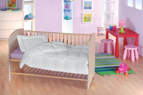f.a.n. Medisan Marken Kinder Steppbett-Set, 100x135 + 40x60 cm, allergieneutral, kochfest bis 95°C