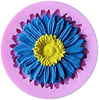 S.Han Silicone Flower Fondant Mold Sunflower Chocolate soap molds Cake Decoration Tools Resin