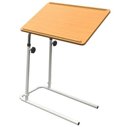 NRS Healthcare F19959 Divan Overbed Table - Tilting & Adjustable
