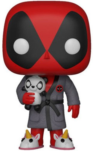 Funko- Figura Pop Marvel Parody Deadpool in Robe Vinilo,
