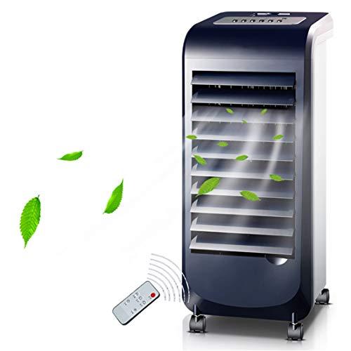Climatizadores Evaporativo Ventilador De Piso Hogar 70W Portatiles Acondicionados Enfriador 7h Temporizador Programable 120° Oscilante