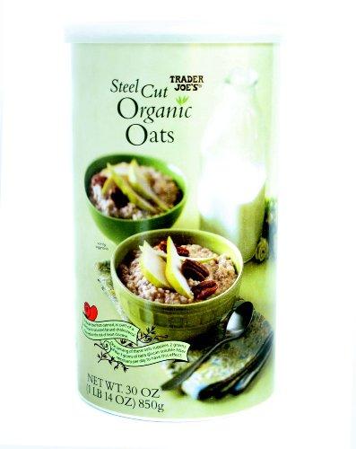Trader Joe's Steel Cut Organic Oats 30 oz