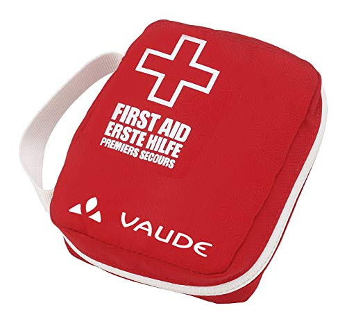 VAUDE First Aid Kit Bike Essential 1 Erste-Hilfe-Sets, red/white, One Size