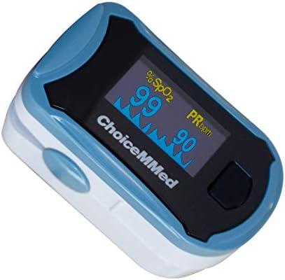 Mobiclinic, MD300C29, Pulsioxímetro de dedo profesional, Marca Española, Pulsómetro de dedo para adulto, Oxímetro de dedo, Medidor de Frecuencia cardíaca y SpO2, Pantalla OLED
