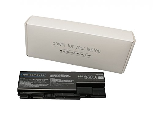 ipc-computer Batterie 77Wh Compatible avec la Serie Packard Bell EasyNote LJ71