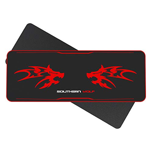 SOUTHERN WOLF Mouse Pad, Extra Large Size Gaming Computer Mouse Pad-1100400mm-Smooth/Non-Slip/Waterproof/Durable for Office and Home