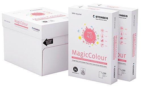 Steinbeis MagicColour DIN A4 - lachs - 5 x 500 Blatt - Multifunktionspapier - 80 g / m²