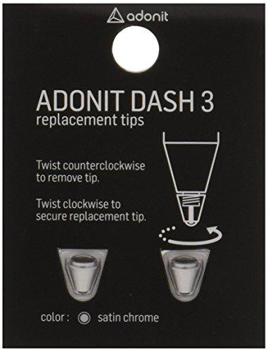 adonit Ersatzspitze (Replacement Tip) im 2er-Pack Dash 3 Stylus in Silber - ARD3TS