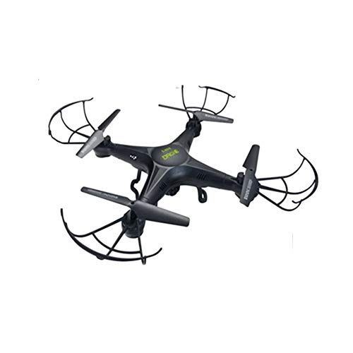LXWM RC Drone 0.3MP HD Camera Drone WiFi Collegare Remote Control Drone Quadcopter per Bambini Regalo di Natale di Compleanno,Black