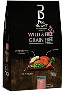 Pure Balance Wild & Free Grain Free Salmon & Pea Dry Dog Food