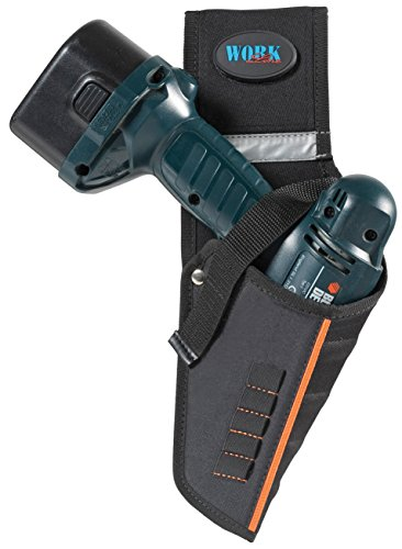 GT LINE TOPDRILLN Funda para taladros a batería adaptable a TOP BELT N (interior 180 x 340 mm), Negro