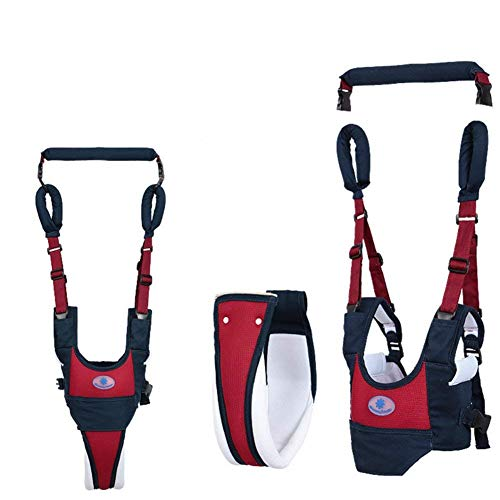 Baby Walker Toddler Walking Assistant by SunCaptor, Stand Up and Walking Learning Helper for Baby, 4 in 1 Functional Safety Walking Harness Walker for Baby 6-48 Months (Navy Blue)