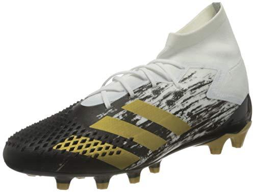 adidas Predator MUTATOR 20.1 AG, Zapatillas de fútbol Hombre, FTWBLA/Dormet/NEGBÁS, 44 2/3 EU