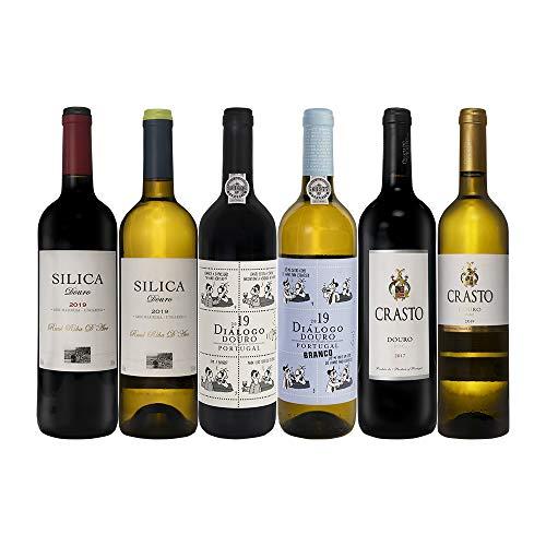 Pack Selección Douro - Niepoort/Crasto/Raul Riba D'Ave |3 botellas tinto + 3 botellas blanco| 0,75L