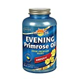Natures Life Evening Primrose Oil 500 mg Minis | PMS and Menopause Support for Women | Skin Health | 180ct, 90 Serv.