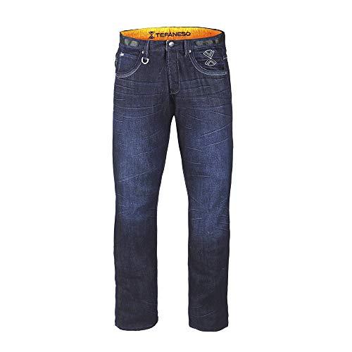 Jeans térmicos fabricados con tecnología Thermolite Estos pantalones vaqueros elásticos ideales para invierno.