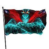 Chongkint Tengen Toppa Gurren Lagann Flags 3x5 Outdoor Vivid Color for Indoor and Outdoor Decoration