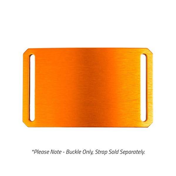 Foxtail Orange Belt Buckle