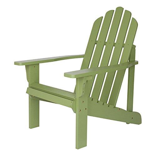 Shine Company 4618LF Marina Adirondack Chair, Leap Frog