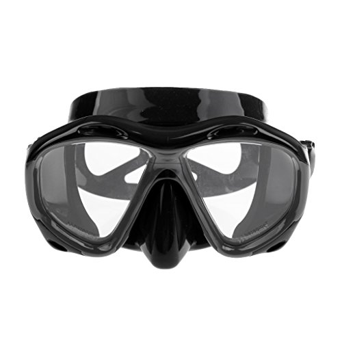 SM SunniMix Máscara de Buceo de Verano Gafas de Natación Gafas Subacuáticas de Vidrio Templado