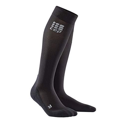 CEP – Socks for Recovery für Damen | Lange Sportsocken zur Regeneration in schwarz | Größe III