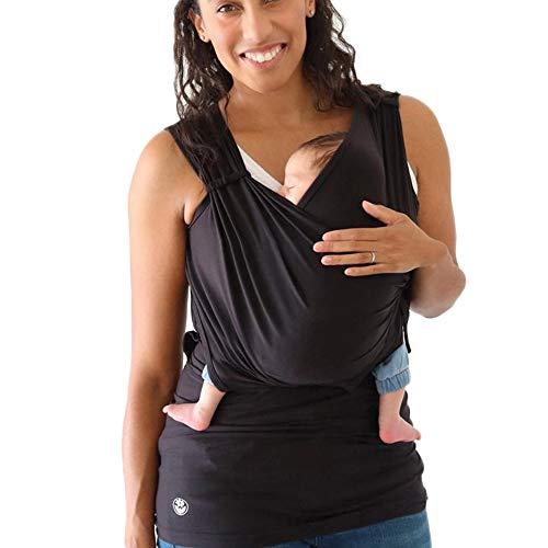 HSDCK Canguro mamá Camiseta Baby Care Nursing Maternidad de Las Mujeres Embarazo Lactancia Materna Tanque del Bolsillo de la Blusa del bebé del Portador del Abrigo de Bolsillo,XL