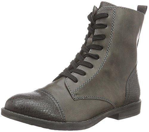 Tamaris Damen 25205 Combat Boots, Grau (Anthracite Com 234), 38 EU