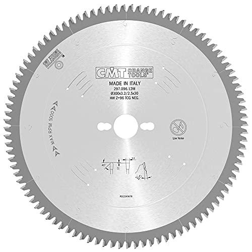 CMT Orange Tools 297.096.12M - Sierra circular 300x3.2x30 z 96 tcg -6 grados silenciosa