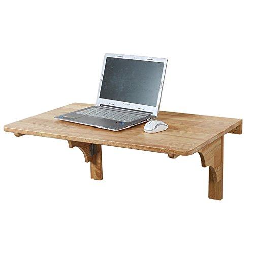 Table d'ordinateur portable pliable mural Table pliante pour les petits espaces Table d'ordinateur portable naturel maison en bois (taille : 24\