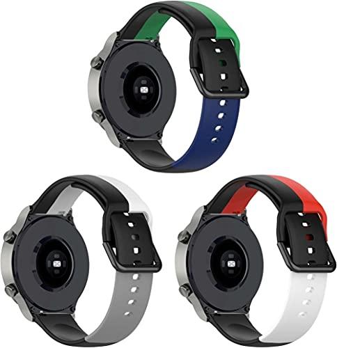Gransho Correa de Reloj Reemplazo Compatible con Polar Vantage M, la Correa de Reloj Watch Band Accessorios (22mm, 3-Pack I)