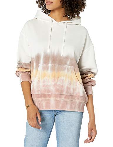 Marque Amazon - Tatyana Sweat-shirt à Capuche, à Manches Longues, en Polaire, pour Femme par The Drop