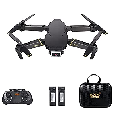 Drone with Camera 4K Camera Long Flight Time Optical Flow Mode Dual Camera Auto Avoid Obstacle Track Flight Gravity Sensor, Headless Mode 3D Flip RC Quadcopter for Adult Kid GD89 PRO by Goolsky
