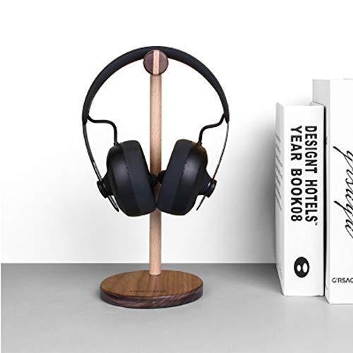 WFBD-CN Estilo nórdico de la Nuez de Haya Auriculares sostenedor Universal del Soporte de Almacenamiento en Rack Inicio Organizador for Auriculares Audio Auriculares