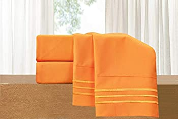 Luxury 4-Piece Bed Sheet Set - Luxury Bedding 1500 Thread Count Egyptian Quality - Wrinkle and Fade Resistant Cool & Breathable Easy Elastic Fitted